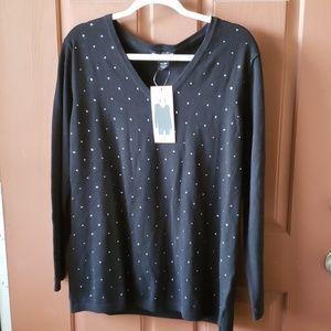 NWT DKNY Jeans sweater XXL